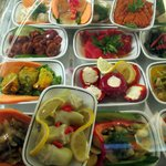 Variety of salads available