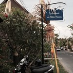 It's in the quiet part of the Jalan batu bulong