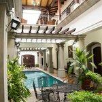 Pool area/courtyard