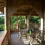 The dining area in the middle of Nature!
