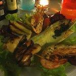 Grigliata di mare - Frutos do mar