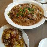 Fish dish ,