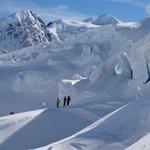 Ice Fall Tasman Glacier Skiing - Photo Charlie Hobbs