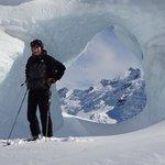Tasman Glacier Skiing - Photo Charlie Hobbs