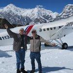 Tom and Pilot Dave