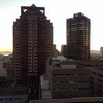 Aussicht aus dem Zimmer im 14. Stock