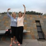 Mum & I Tai Chi-sing on Meditation Hill