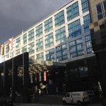 facade van het hotel