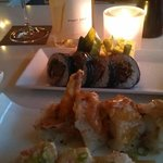 Front - Ricky Ricardo, Middle - 49er, Back - Kobe beef Roll...J Pinot Gris - yes!