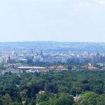 Dresden van bovenaf gezien