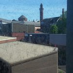 View of the prison from our room