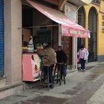 The Salteñas shop on corner of Bozo and Goyzueta street
