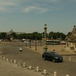 View of the Place de la Concorde