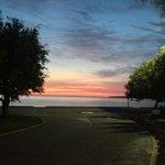 sunrise at 5.50am
