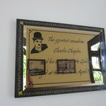 Charlie Chaplin stayed here