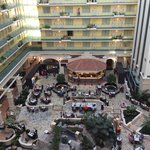 interior view of the Embassy Suites