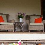outdoor / porch area