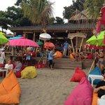 Bali Juice Park on the beach