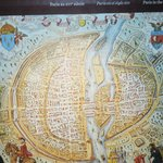 16th century Paris map