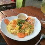 Encore pas bon cet espèce de risotto au curry