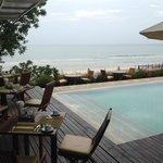 Pool Bar Overlooking the Beach