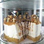 Toffee Waffle Cheesecake