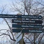 Island sign