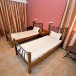 Δωμάτιο με δύο μονά κρεβάτια