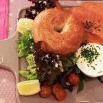 Baggel saumon (froid)