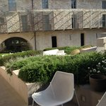 jardin et espace terrasse, restaurant