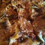The Manzanillo Pizza at Yonas