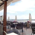 Терраса ресторана отеля