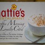 Hattie's loyalty card