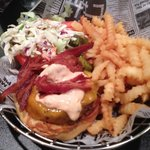 Twisted Burger...Outstanding @ $5 on 1/2 price Burger Night Monday.....makes up for the consiste