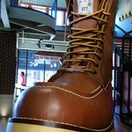 Red Wing Store's Giant Boot!