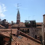 View of the San Marco bell tower from my room
