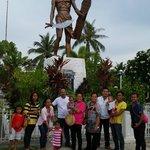 Lapu Lapu memorial statue
