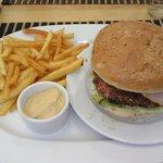 hamburger premium