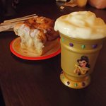 Cinnamon roll and La Fou's brew