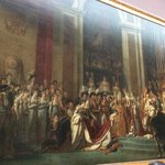 the coronation of nepolean by Jacques Louis David