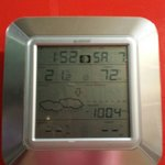 Weather Stations at the lift entrance top floor. This was taken early hours of the morning. Look