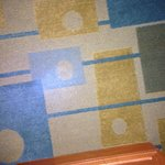 Bloody Carpet non visible with out a black light