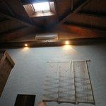 天窓があり天井が高い