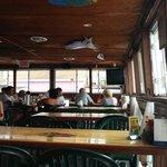 Tables at Big Sam's