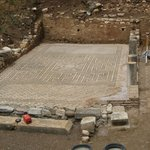 Mosaic pavement at Ancient Messene