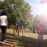 Parcours de santé, tennis, salle de fitness... proftez librement des nombreuses activités sporti