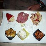 Seafood platter a la Bancogiro.  Wow!!