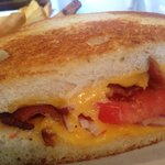 The famous grilled cheese sandwich at Stoney 's in Logan Circle. @finnygo.