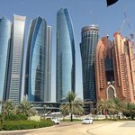 View of the Etihad Towers