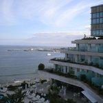 Atlantic Ocean from 6th-floor public balcony area